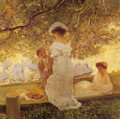 The Boating Party - Gaston de Latouche