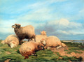Landscape with Sheep - Thomas Sidney Cooper