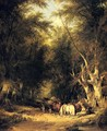 In The New Forest - William Shayer, Snr