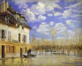 Boat During a Flood 1871 - Alfred Sisley