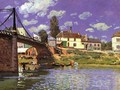 The Bridge at Villeneuve-la-Garenne 1872 - Alfred Sisley