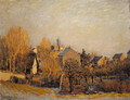 Frost In Louveciennes - Alfred Sisley
