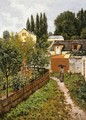 Garden Path In Louveciennes - Alfred Sisley