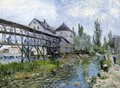Provencher's Mill at Moret 1883 - Alfred Sisley