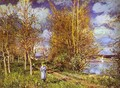 Small Meadows In Spring - Alfred Sisley