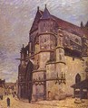 The Church At Moret Winter - Alfred Sisley
