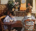 The Lesson - Alfred Sisley