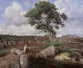 Fontainebleau, 'The Raging One' - Jean-Baptiste-Camille Corot