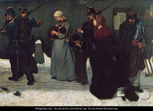 What is called Vagrancy - Alfred Stevens