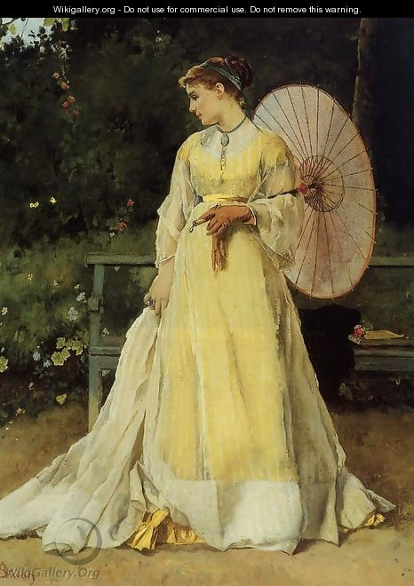 In the Country - Alfred Stevens