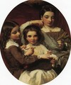Portrait of the Russell Sisters - James Sant