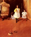Ring Toss - William Merritt Chase