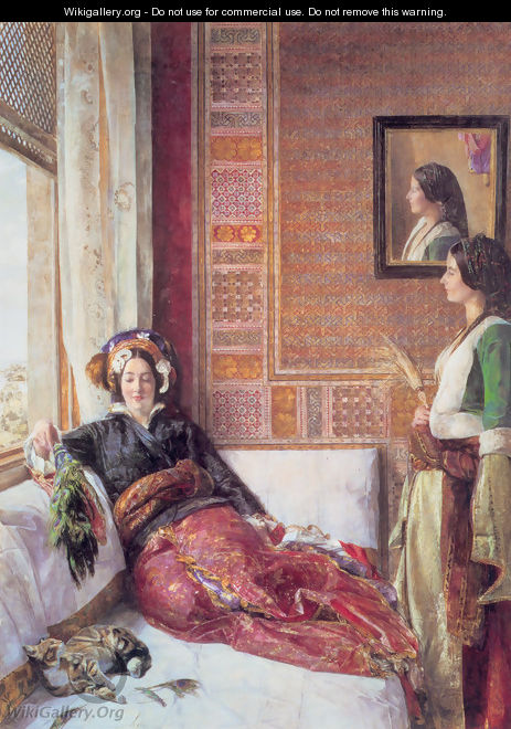Harem Life in Constantinople - John Frederick Lewis