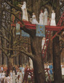 Druids Cutting the Mistletoe on the Sixth Day of the Moon - Henri Paul Motte