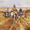 When the Plains Were His - Charles Marion Russell