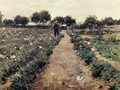 The Potato Patch (or Garden, Shinnecock) - William Merritt Chase