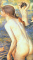 The Large Bathers (detail) - Pierre Auguste Renoir
