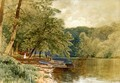 Rowboats for Hire - Alfred Thompson Bricher