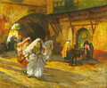 In the Souk - Frederick Arthur Bridgman