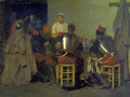 Cuirassiers at the Tavern - Guillaume Regamey