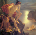 Oberon and the Mermaid - Sir Joseph Noel Paton