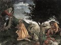 Scenes from the Life of Moses [detail: 2] - Sandro Botticelli (Alessandro Filipepi)