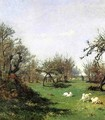 Spring in Pont Aven - William Lamb Picknell