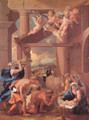 The Adoration of the Shepherds - Nicolas Poussin