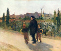 All Souls' Day - Jules Bastien-Lepage
