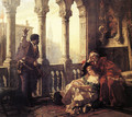 Othello Relating His Adventures to Desdemona - Carl Ludwig Friedrich Becker