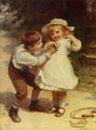 Sweethearts - Frederick Morgan