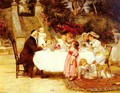 His First Birthday - Frederick Morgan