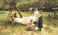 An Apple-gathering - Frederick Morgan