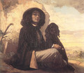 Self Portrait (or Courbet with a Black Dog) - Gustave Courbet