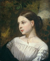 Portrait of a Girl - Thomas Couture
