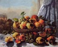 Still Life: Fruit - Gustave Courbet