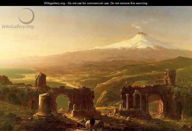 Mount Etna from Taormina - Thomas Cole