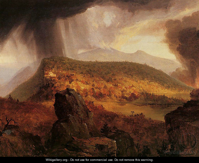 Catskill Mountain House: The Four Elements - Thomas Cole