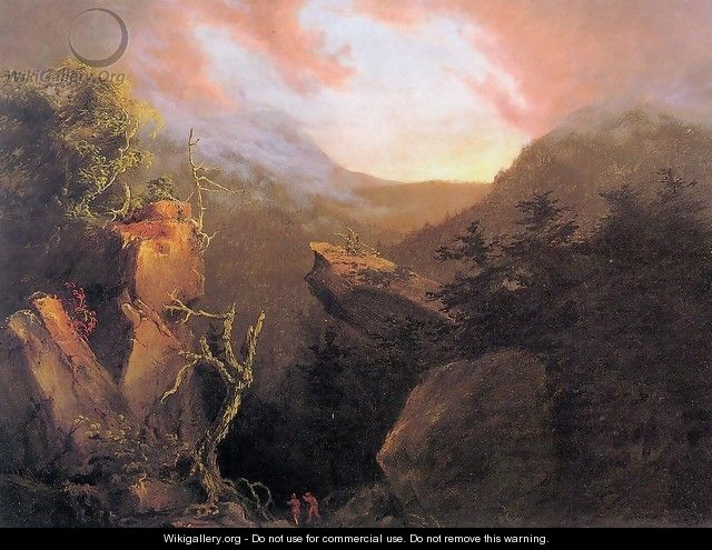 Mountain Sunrise, Catskill - Thomas Cole