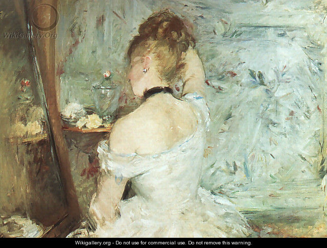A Woman at her Toilette - Berthe Morisot