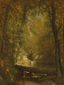 The Trout Pool - Thomas Worthington Whittredge