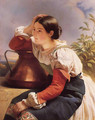 Young Italian Girl by the Well - Franz Xavier Winterhalter