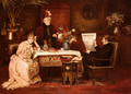 Trop De Belle-Mere (Enough, dear mother!) - Mihaly Munkacsy