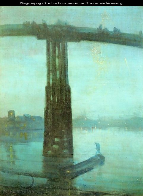 Nocturne: Blue and Gold - Old Battersea Bridge - James Abbott McNeill Whistler