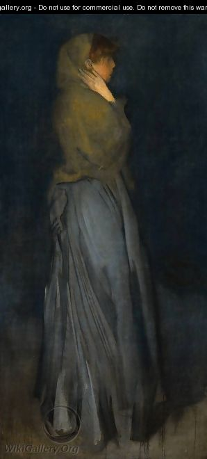 Arrangement in Yellow and Grey: Effie Deans - James Abbott McNeill Whistler