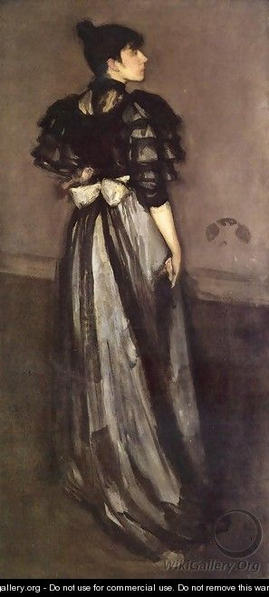 Mother of Pearl and Silver: The Andalusian - James Abbott McNeill Whistler