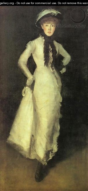 Arrangement in White and Black - James Abbott McNeill Whistler
