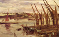 Battersea Reach - James Abbott McNeill Whistler