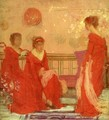 Harmony in Flesh Colour and Red - James Abbott McNeill Whistler