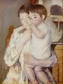 Baby in His Mother's Arms, Sucking His Finger - Mary Cassatt